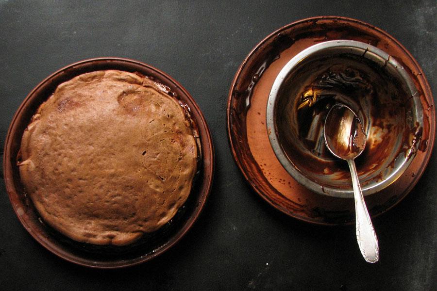 шоколадный блинный торт | silady.ru