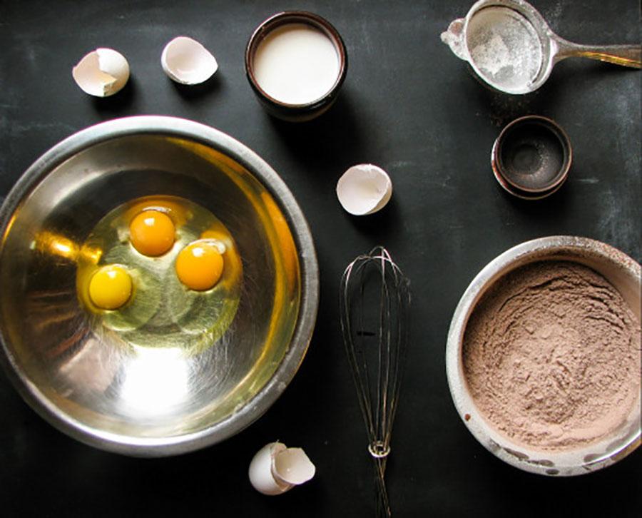 смешайте все сухие ингредиенты | silady.ru