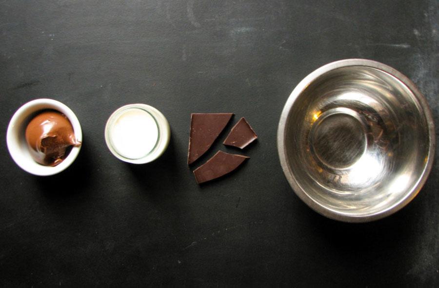 ингредиенты для шоколадного крема | silady.ru