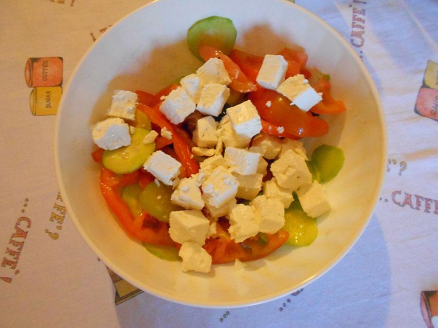 греческий салат пошагово silady.ru