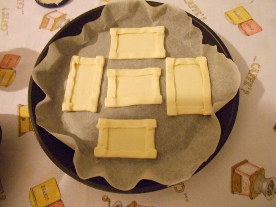 слоеное тесто на пергаменте silady.ru