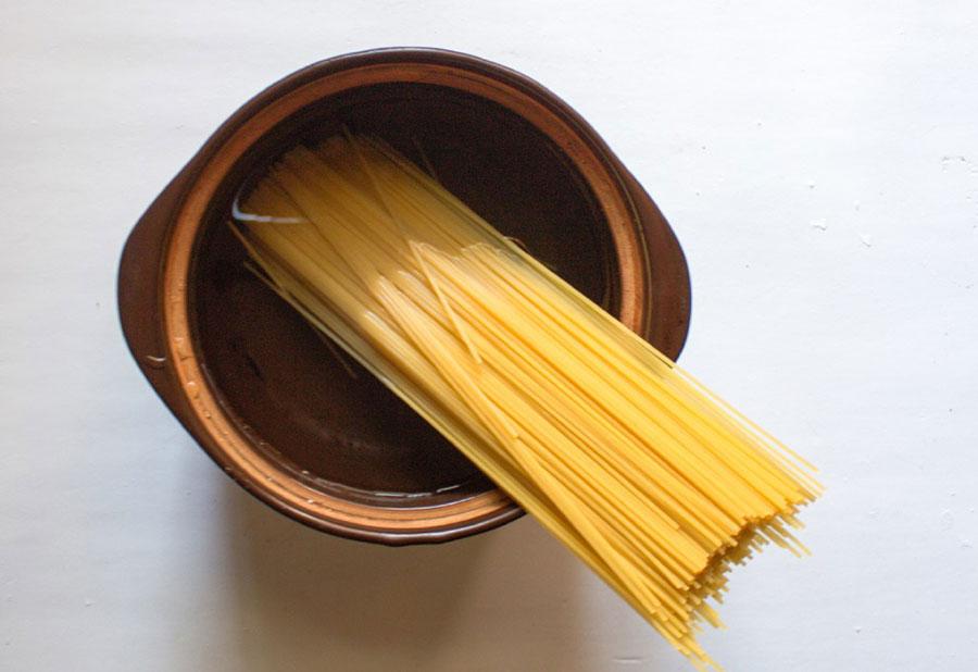 сварите спагетти | silady.ru