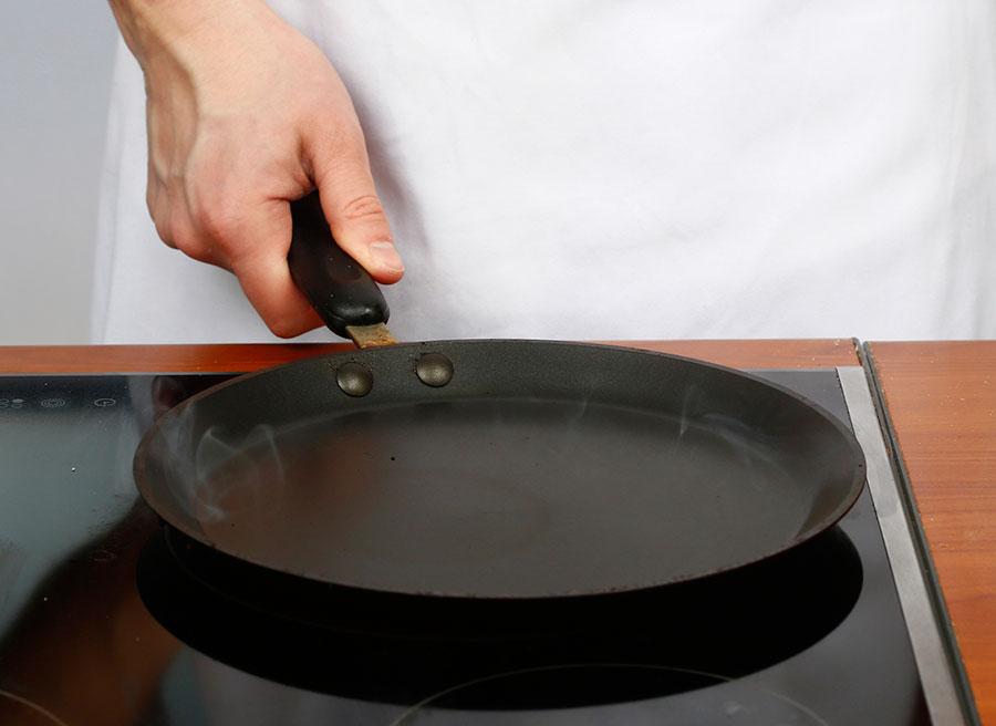 Хорошо раскалите сковороду | silady.ru